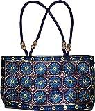Czds India Women's Blue Handbag (BAG-57)