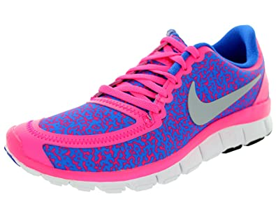 innovative design 51a06 30b8e Nike Women u0026 39 s Free 5.0 V4 Hypr Pnk Mtlc Pltnm