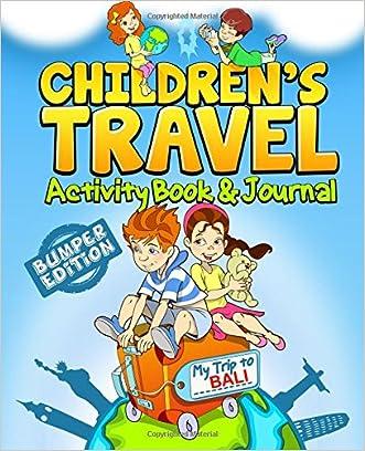 Children's Travel Activity Book & Journal: My Trip to Bali