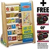 ABC-123 Abacus + FREE Melissa & Doug Scratch Art Mini-Pad Bundle [92739]