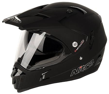 NITRO 187142XS02 Casque Moto MX650 Dvs Noir