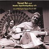 Live at Washington Square Church 1981 by Vasant Rai