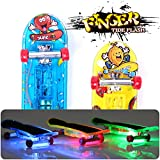 Vakind® 2XMini Planche à Roulettes Jouets Roller Finger Tech Deck Cadeaux Garçon Enfants Bébé