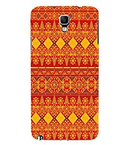 ColourCraft Tribal Design Back Case Cover for SAMSUNG GALAXY NOTE 3 NEO DUOS N7502