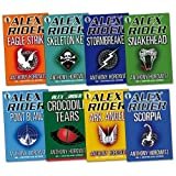 Gareth P Jones Alex Rider Pack Collection, 8 books, RRP £63.92 (Stormbreaker, Point Blanc, Skeleton Key, Eagle Strike, Scorpia, Ark Angel, Snakehead, Crocodile Tears) (Alex Rider) (Alex Rider)
