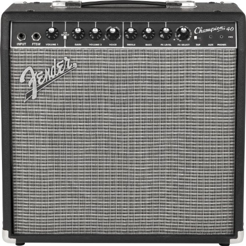 Fender Champion 40, Guitar Amplifier, Black