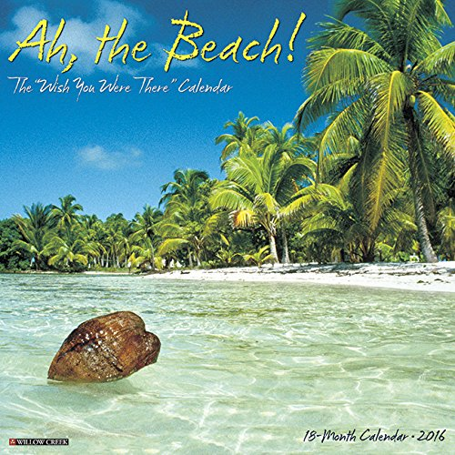 2016 Ah The Beach! Wall Calendar