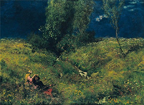 oil-painting-hans-thoma-summer1872-24-x-33-inch-61-x-84-cm-on-high-definition-hd-canvas-prints-is-fo