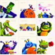 9 Quirky Monsters & Aliens Birthday Cards
