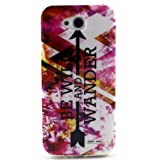 L90 Case, LG Optimus L90 Case, Firefish Superior Slim Soft TPU Rubber Silicone Case Impact Resistant Durable Protective Back Cover Attractive Case for LG Optimus L90-Wander (Color: Wander, Tamaño: For LG Optimus L90 (T-Mobile) / D415)