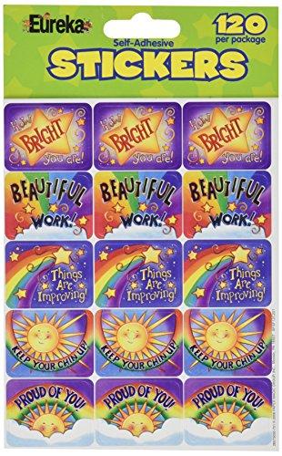 Eureka Rainbow Promises Stickers