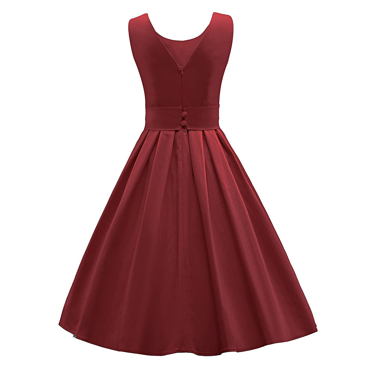 LUOUSE 'Lana' Vintage 1950's Inspired Rockabilly Swing Dress 2