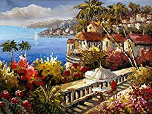 european mediterranean oil painting paintings ForOil Paintings For Sale Amazon