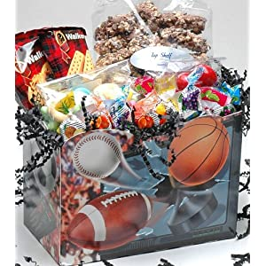 Sports Balls Gourmet Treat Box