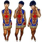 Rumas-Women-African-Print-Dress-Casual-Straight-Bohemia-Sleeveless-Mini-Dresses