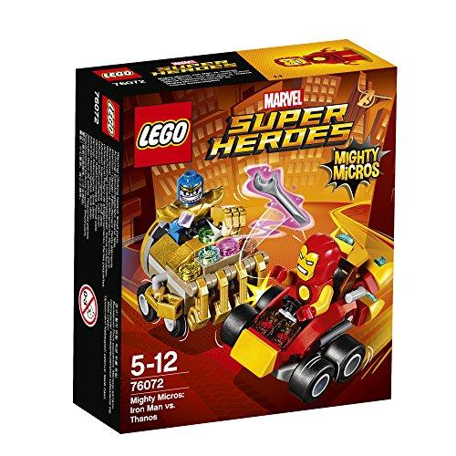 レゴ(LEGO)スーパー・ヒーローズ マイティマイクロ:アイアンマン vs サノス 76072