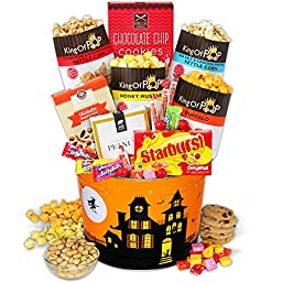 Haunted House Snack Tin