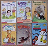img - for Hello Reader: Set of 6 Books Level 3 (The Playground Bully ~ A Present for Mama Bear ~ Germs! Germs! Germs! ~ Endangered Animals ~ Sting! A Book About Dangerous Animals ~ The Fattest, Tallest, Biggest Snowman Ever (Math)) book / textbook / text book