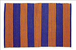 1 Piece Orange & Blue Pooja Mat