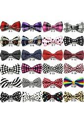 P&o Polyester Silk Bowtie Necktie Cravat for Men Fashionable