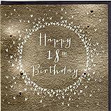 """Belly Button Designs Paloma bezaubernde Glückwunschkarte zum 18. Geburtstag """"Happy"""