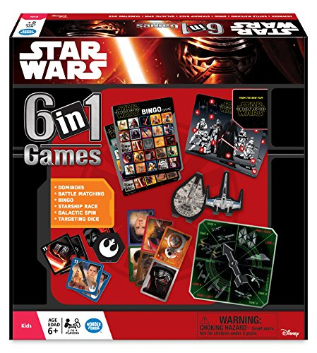 Ravensburger Star Wars Episode 7, 6 in 1 Games