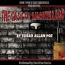 The Cask of Amontillado (       UNABRIDGED) by Edgar Allan Poe Narrated by David Ian Davies