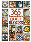 365 Fun-To-Stitch Quilt Blocks