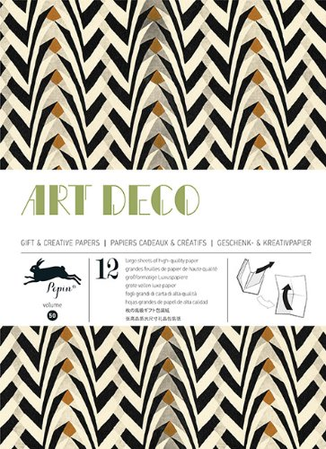 ART DECO - GIFT AND CREATIVE PAPER BOOK Vol 50: Gift & Creative Paper Book Vol. 50 (Gift wrapping paper book (50))