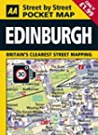 AA Pocket Map Edinburgh (AA Street by...