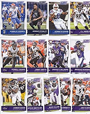 Baltimore Ravens - 2016 Score Football 13 Card Team Set w/ Rookies (PLUS 1 Special Insert Card)