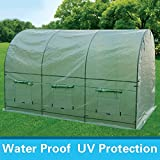 NEW 12'x7'x7' Larger Portable Walk In Greenhouse Tunnel Green House Hothouse
