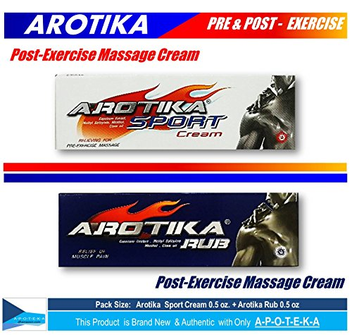 dual-action-pain-relief-for-pre-and-post-exercise-pack-size-05-05-oz-arotika-sport-cream-white-for-p