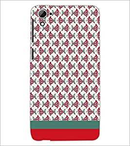 PrintDhaba Fish Pattern D-1867 Back Case Cover for HTC DESIRE 826 (Multi-Coloured)