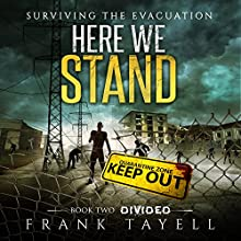 Divided: Here We Stand, Book 2 Audiobook by Frank Tayell Narrated by Theodore Copeland