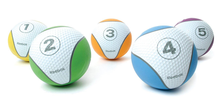 Übungen mit Medizinball - Reebok Medizinball