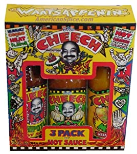 Cheech Hot Sauce Gift 3 Pack Gift Pack 15 Fl Oz from AmericanSpice.com