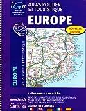 echange, troc IGN - Europe Atlas: IGN-A95050