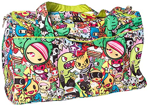 Ju-Ju-Be Tokidoki Collection Super Star Large Travel Duffel Bag, Iconic