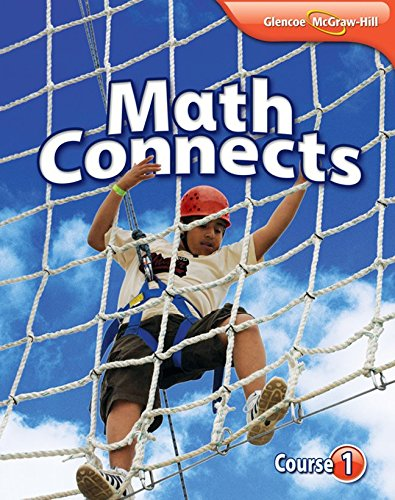 Math Connects, Course 1 Study Notebook (MATH APPLIC & CONN CRSE)