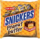 Snickers Peanut Butter Squared Candy Bars, 11.5 oz