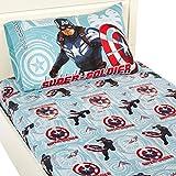 Marvel Captain America-2 Winter Soldier Sheet Set, Twin