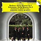 Brahms: String Quartet No.1 / Schumann: String Quartet No.2