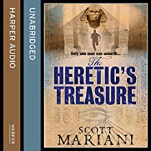 The Heretic's Treasure: Ben Hope, Book 4 (       UNABRIDGED) by Scott Mariani Narrated by Colin Mace