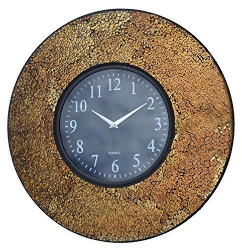 Lulu Decor Black Drop Wall Clock : Colored digital clock office modern art home decor