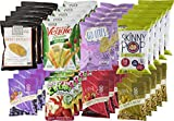 Non-GMO and Natural Healthy Snacks Care Package by The Good Grocer (40 Count)