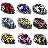 alohapi 【全9種】 超 軽量 高 剛性 自転車 用 サイクリング 大人 用 ヘルメット