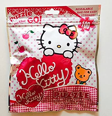Hello-Kitty-Puzzle-On-The-Go-~-100-pieces