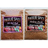Paulie Spice : BBQ Rub and Seasoning Combo Set (2 Flavors): Sweet and Smoky Rib Rub :... by Paulie Spice