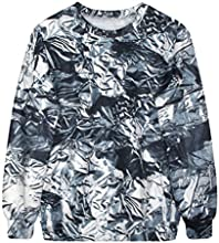 Women Casual Hoodie Long Sleeve Fleece Sweatshirt Print Coat Tops Outerwear